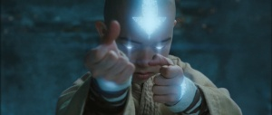Last Airbender movie Avatar State Aang