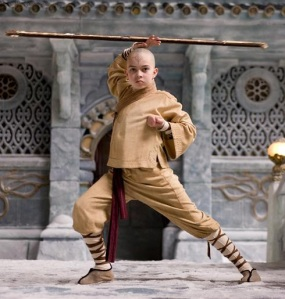 The Last Airbender movie Aang