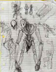 insectoid alien cyborgs