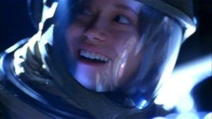 firefly river in a space suit