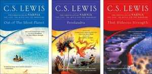 C.S. Lewis space trilogy