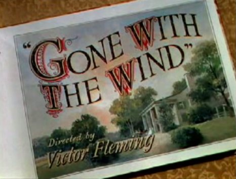 Gone with the wind title