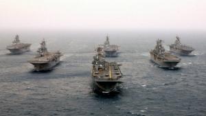 FEL laser battleship defense