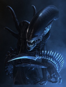 alien xenomorph dark scary