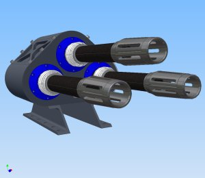 Metal Storm modular weapon pod combat weapon