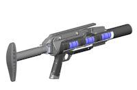 Metal Storm 3gl grenade launcher cutaway