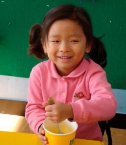 Korean kindergartner