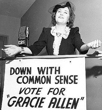 Gracie Allen presidential campaign