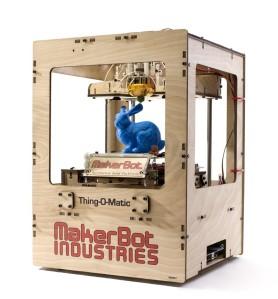 makerbot thing-o-matic 3D printer