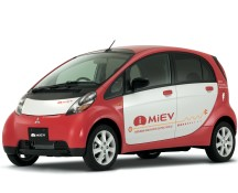 Mitsubishi iMiEV electric car