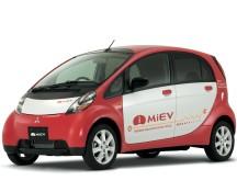 Mitsubishi iMiEV electric car