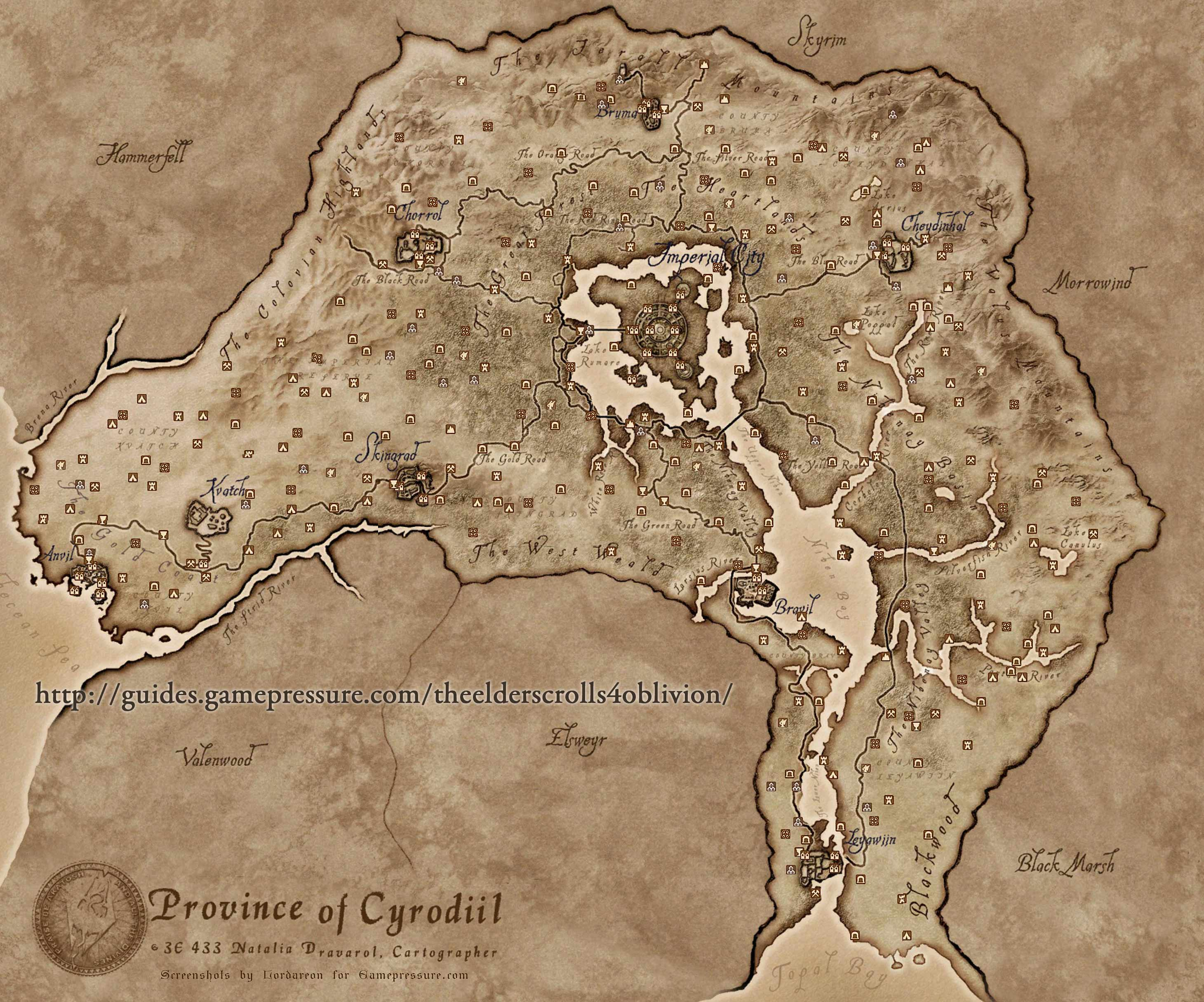 Official world map for lords of xulima news indie db here you have the maps for oblivion dragon age gumiabroncs Image collections