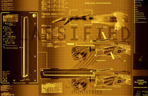 Deus Ex Human Revolution Combat Nano-ceramic Blade