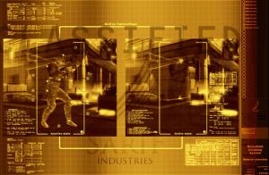 Deus Ex Human Revolution Glass Shield Cloaking System