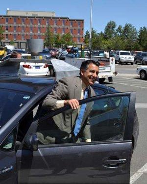 Nevada Governor and Google Car