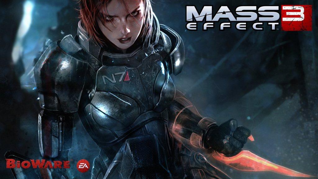 Mass Effect 3 femshep female shepherd