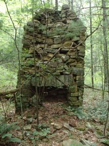 The ruins of Brown Mountain Creek