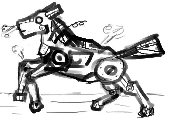 Robot Pony