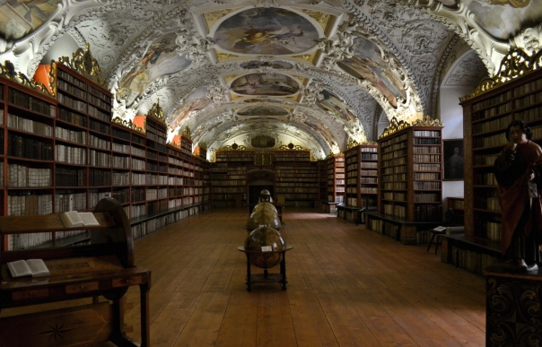 A field trip to this library in Prague would probably do the trick...