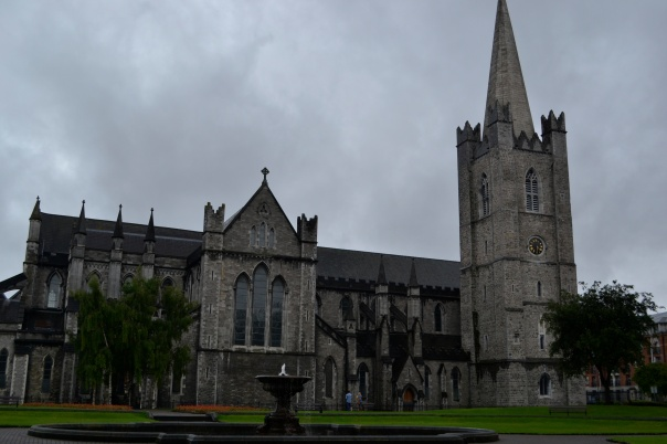 Saint Patrick's Cathedral in Dublin, Ireland.