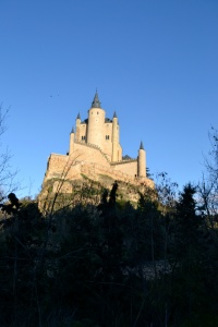 fairytale castle spain segovia