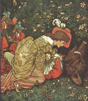 Beauty and the Beast: my favorite fairy tale. Perhaps I'll do something with it in the future.