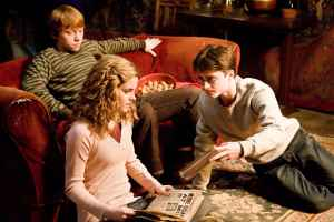 "-- ""Hey, Hermione, have you read this book? It's great!"""
