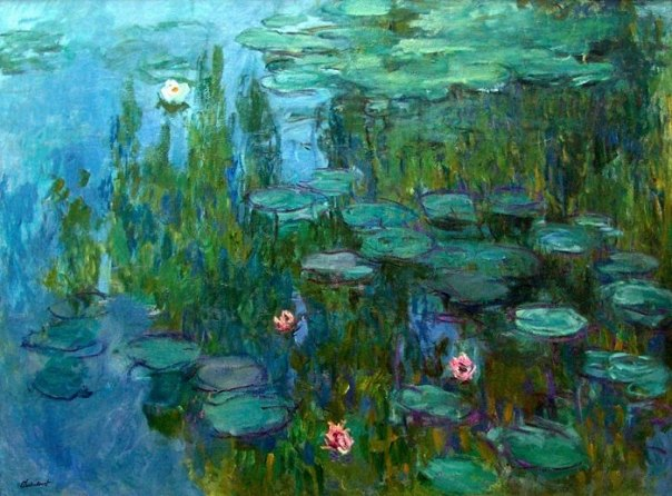 Monet captures the beauty of water better than anyone.