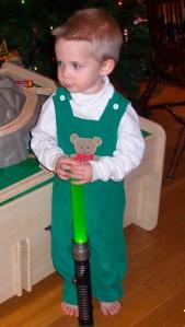 little boy light saber