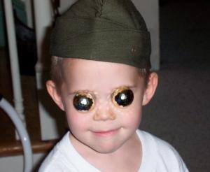 crazy little boy