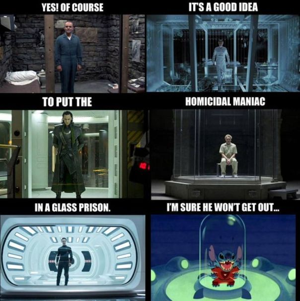 villain in glass prison