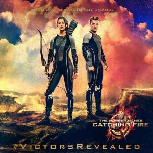 hunger games catching fire katniss peeta poster