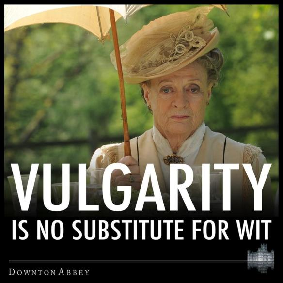 Vulgarity-Wit