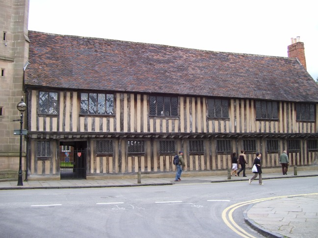 Where Shakespeare learned his grammar