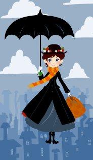 Mary Poppins by OlayaValle disneyfemales.deviantart.com