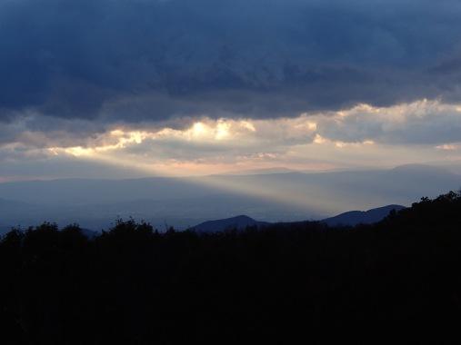 Lightfall on Cold Mountain