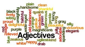 adjectives list