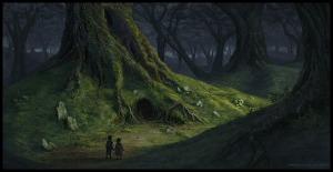 fantasy landscape quest story