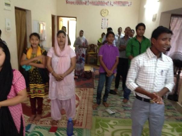 House Church Worship in Bhubaneshwar