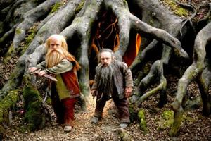 Narnian Dwarfs--but not the ones in the stable, though Nikabrick, the dark one, could have been.  Trumpkin, on the left, new better.