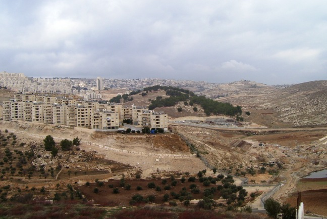 The Shepherd's Field, seen from modern Bethlehem