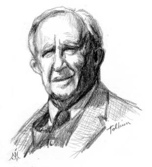 Portrait-Tolkien-line-Murray