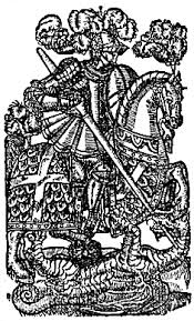 Redcrosse Knight (St. George of Merry England) Slaying the Dragon