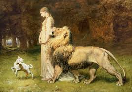 Una and the Lion, from Spenser's Fairie Queene