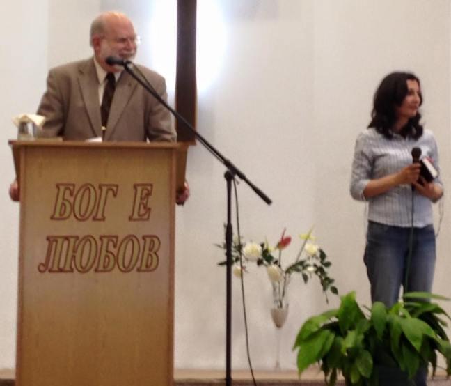 Preaching at 2nd Baptist, Varna