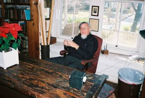 Dr. Orme in his study